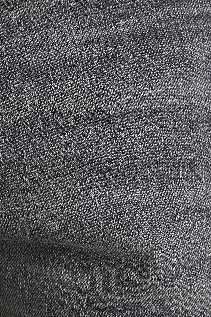 Premium jeans with whiskering, GREY LIGHT WASHED, detail image number 5