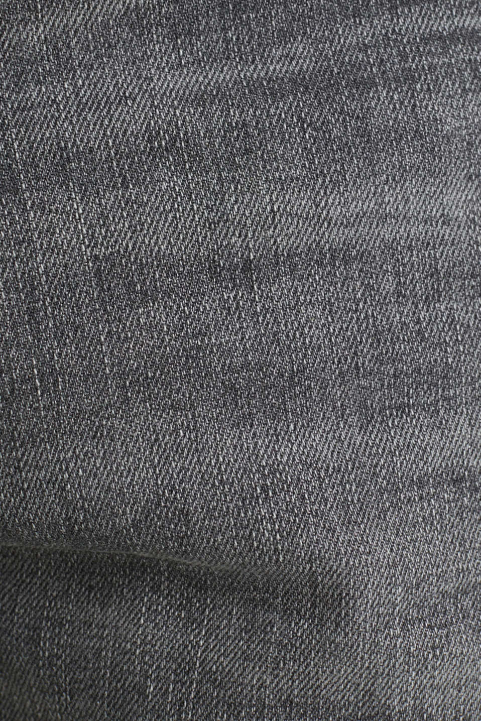 Premium jeans with whiskering, GREY LIGHT WASH, detail image number 5