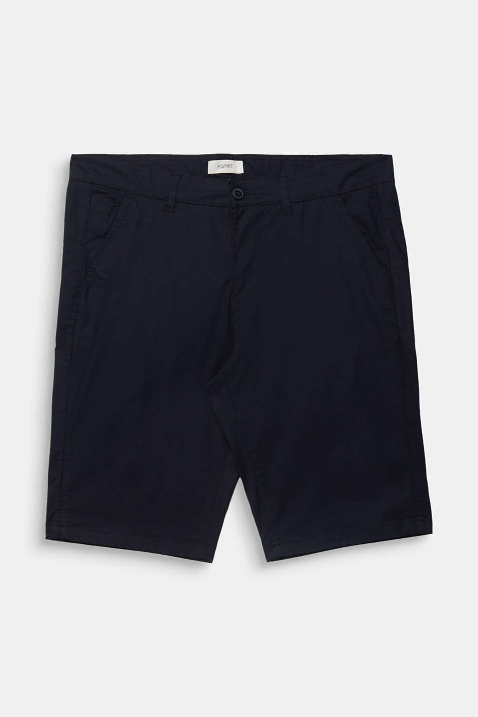 Chino shorts with organic cotton, NAVY, detail image number 6