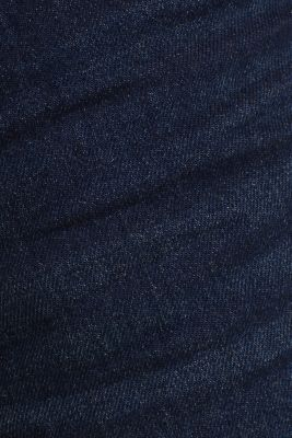 Denim Bermudas in a garment-washed look, BLUE DARK WASH, detail