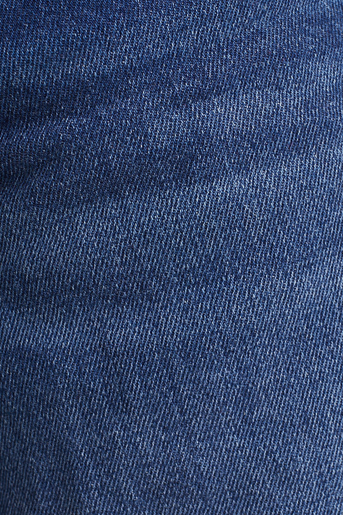 Denim-Bermuda im Washed-Look, BLUE MEDIUM WASHED, detail image number 4