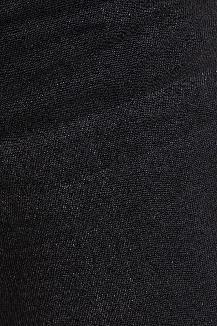 Denim-Bermuda mit Bio-Baumwolle, BLACK MEDIUM WASHED, detail image number 4