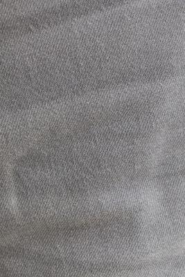 Denim Bermudas with organic cotton, GREY LIGHT WASH, detail