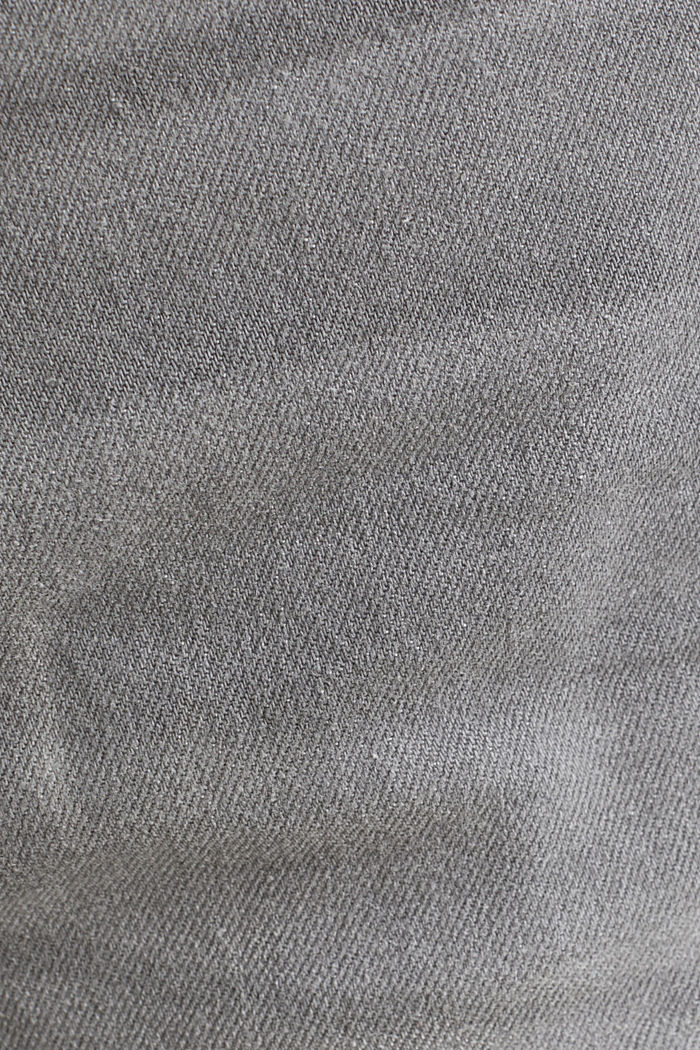 Bermudas vaqueras con algodón ecológico , GREY LIGHT WASHED, detail image number 5