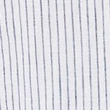 Striped shirt in blended linen, WHITE 3, swatch