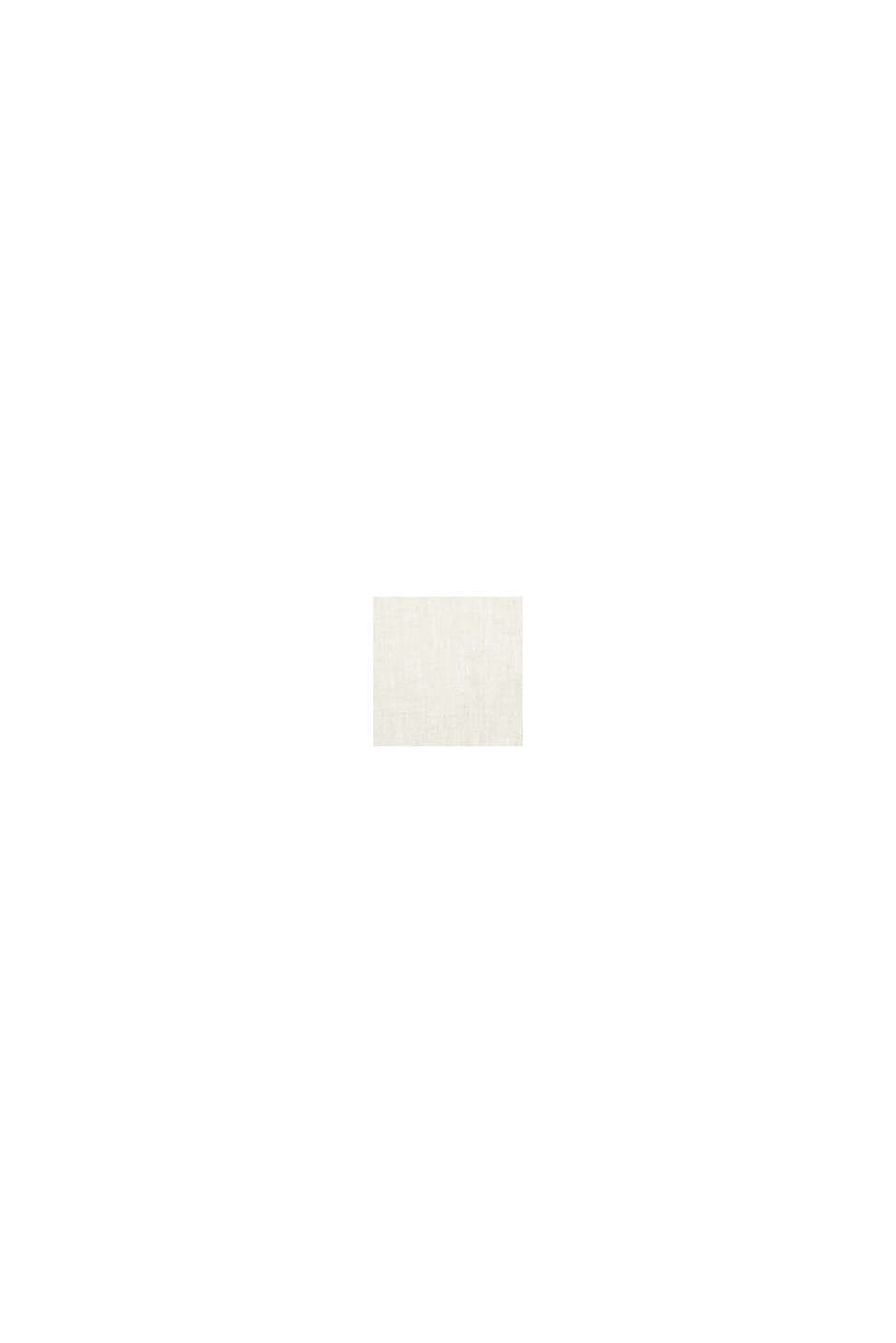 In misto lino: camicia button-down, TAUPE, swatch