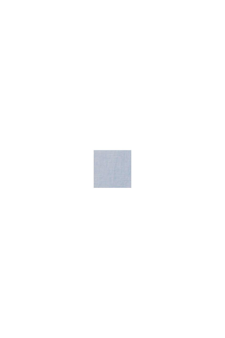 En lin mélangé: la chemise dotée d'un col à pointes boutonnées, LIGHT BLUE, swatch