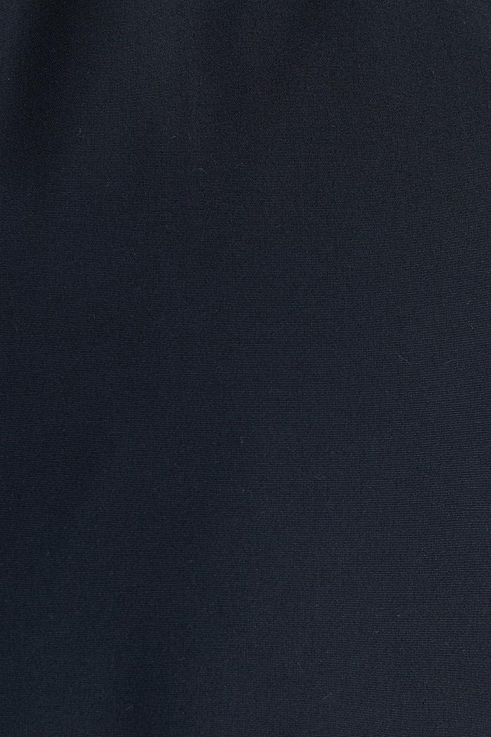 Bluzon z prążkowanym ściągaczem, DARK BLUE, detail image number 4