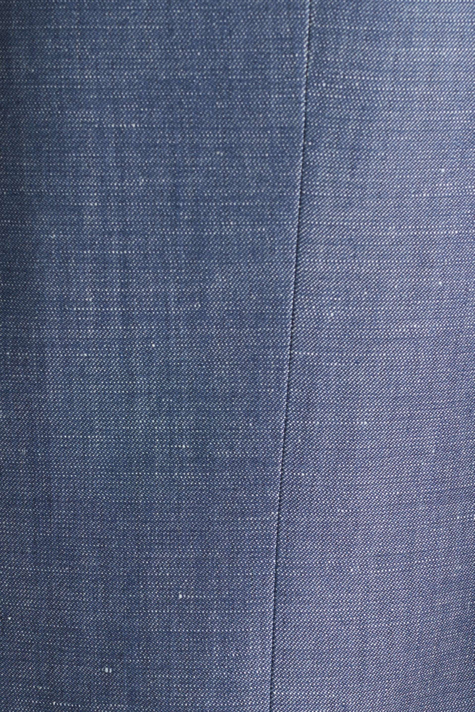Blended linen: JOGG SUIT mix + match: sports jacket, BLUE 5, detail image number 4
