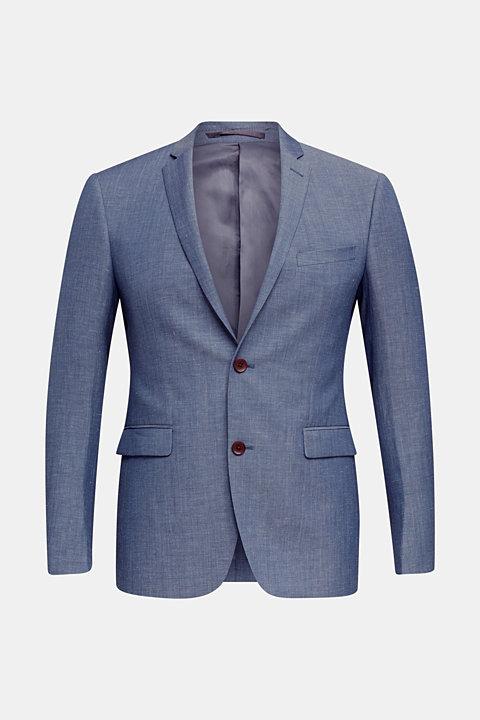 Blended linen: JOGG SUIT mix + match: sports jacket