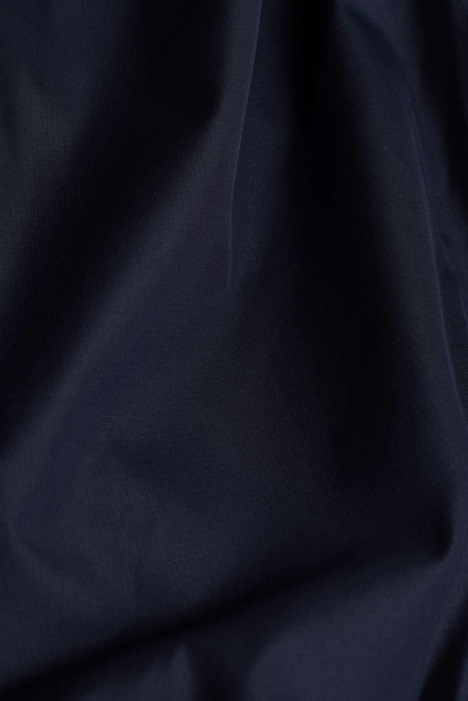 Windbreaker with hood, DARK BLUE, detail image number 4