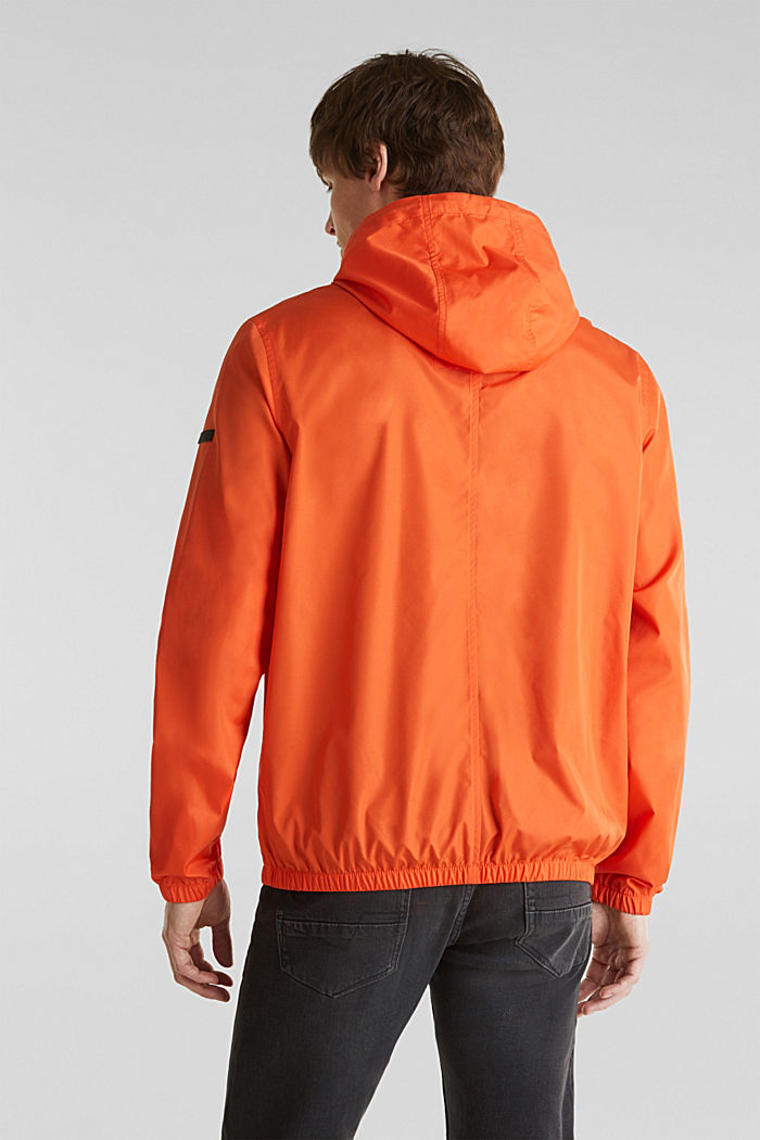 Windbreaker mit Kapuze, BRIGHT ORANGE, detail image number 3