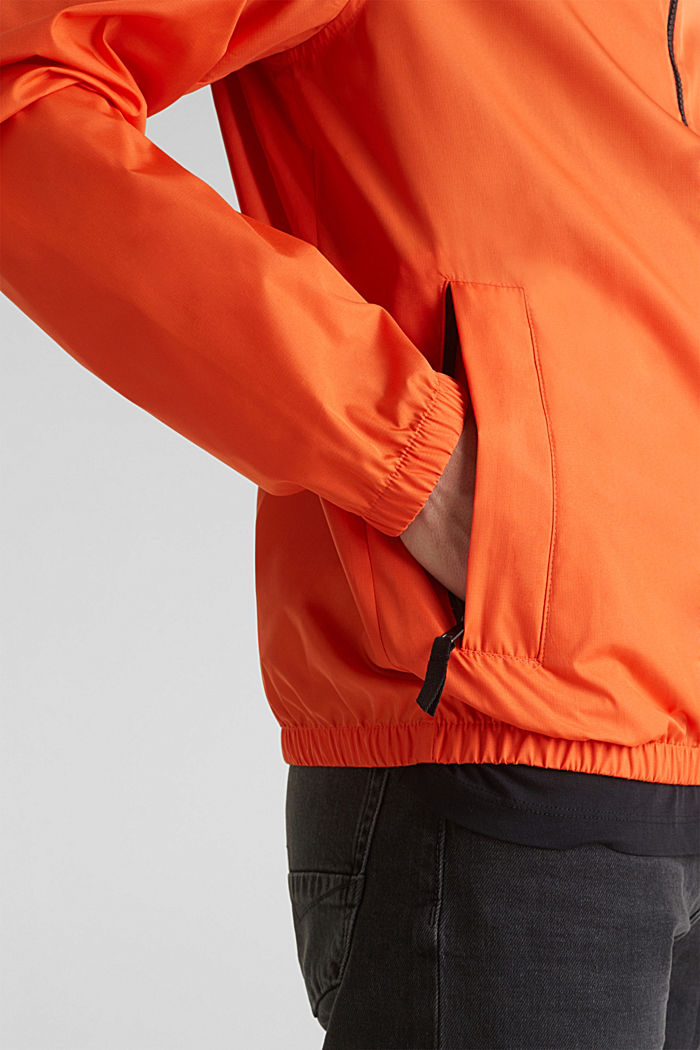 Windbreaker mit Kapuze, BRIGHT ORANGE, detail image number 5