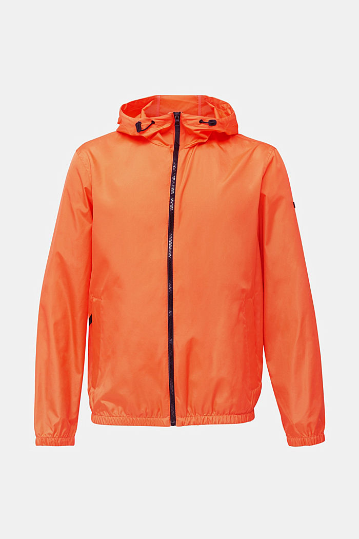 Windbreaker mit Kapuze, BRIGHT ORANGE, detail image number 6