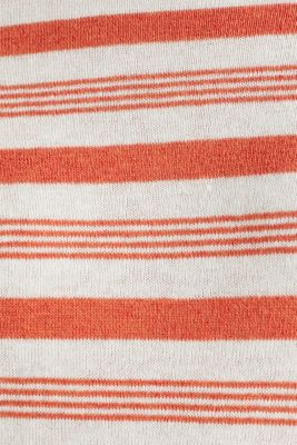 Striped jumper in blended linen, OFF WHITE 3, detail