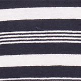 Striped jumper in blended linen, NAVY 3, swatch