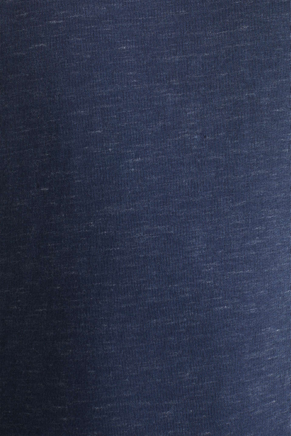 Sweatshirt with a two-tone drawstring collar, NAVY 5, detail image number 4