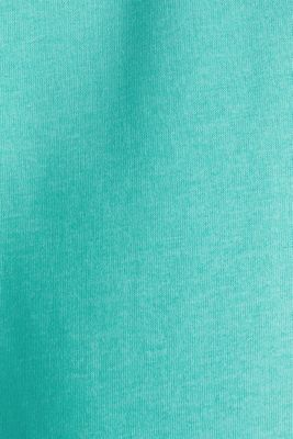 Colour block sweatshirt with logo motifs, LIGHT TURQUOISE 5, detail