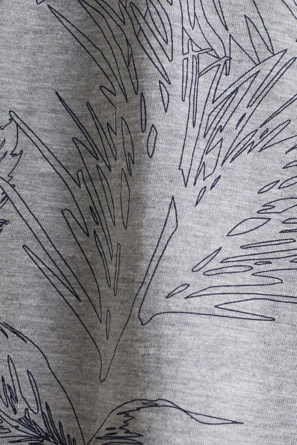 Printed jersey T-shirt, MEDIUM GREY 4, detail image number 4