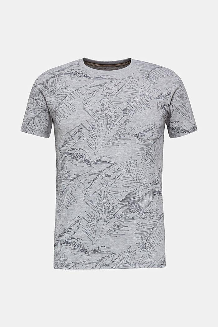 Jersey-Shirt mit Print, MEDIUM GREY, detail image number 2