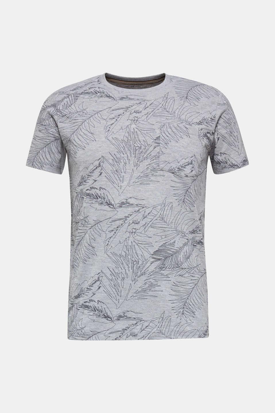 Printed jersey T-shirt, MEDIUM GREY 4, detail image number 6