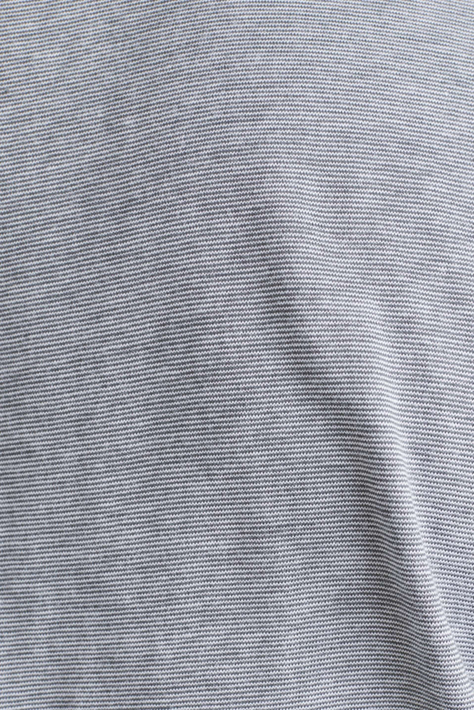 Printed jersey top with a pocket, 100% organic cotton, MEDIUM GREY 3, detail image number 3