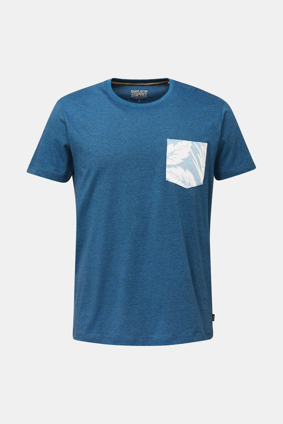 Jersey top, 100% organic cotton, PETROL BLUE 3, detail image number 7