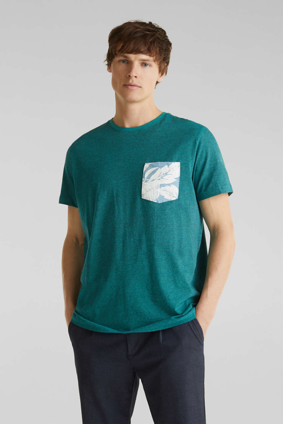 Esprit - Jersey shirt, 100% organic cotton