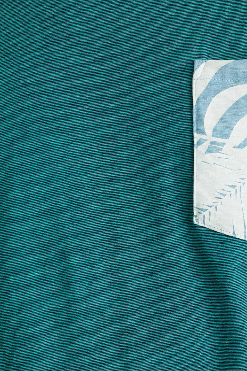Jersey top, 100% organic cotton, LIGHT TURQUOISE 3, detail image number 4