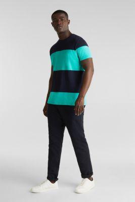 Slub jersey T-shirt in 100% cotton, LIGHT TURQUOISE 3, detail