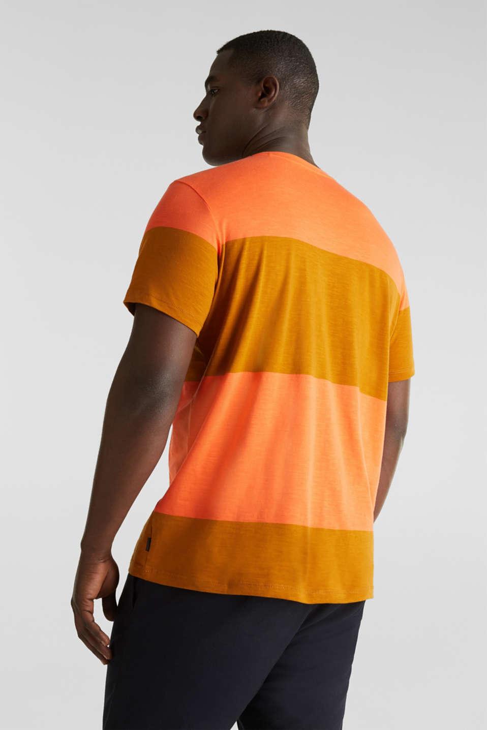 Slub jersey T-shirt in 100% cotton, RUST ORANGE 3, detail image number 3