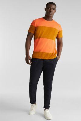 Slub jersey T-shirt in 100% cotton, RUST ORANGE 3, detail