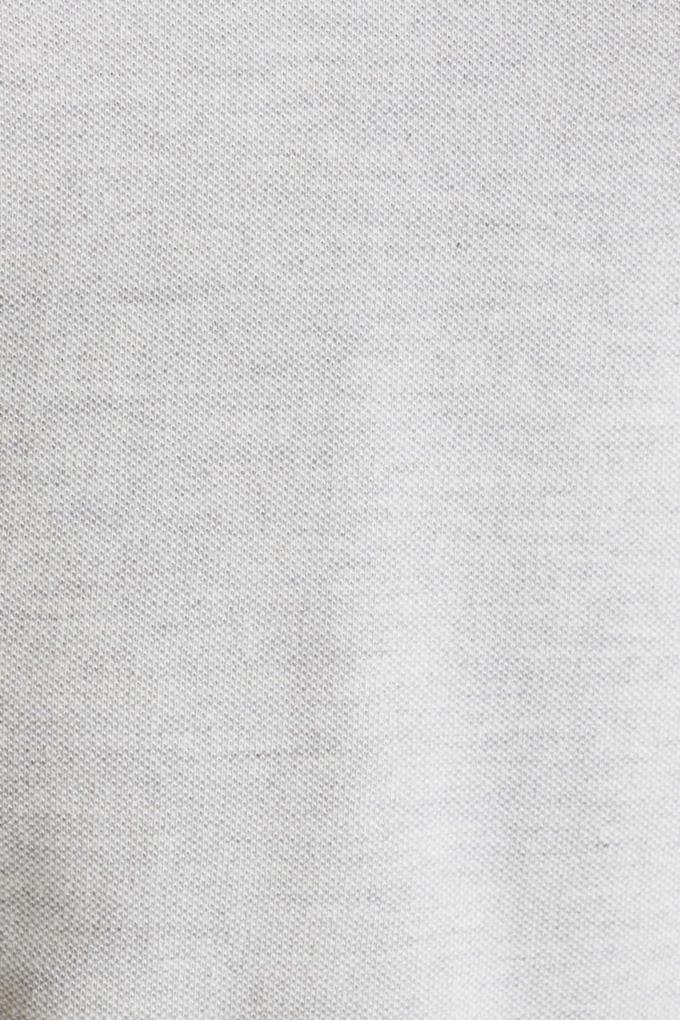 Piqué polo shirt with a stand-up collar, WHITE 2, detail image number 4