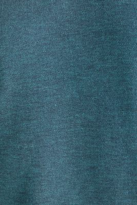 Piqué polo shirt with a stand-up collar, TEAL GREEN 2, detail