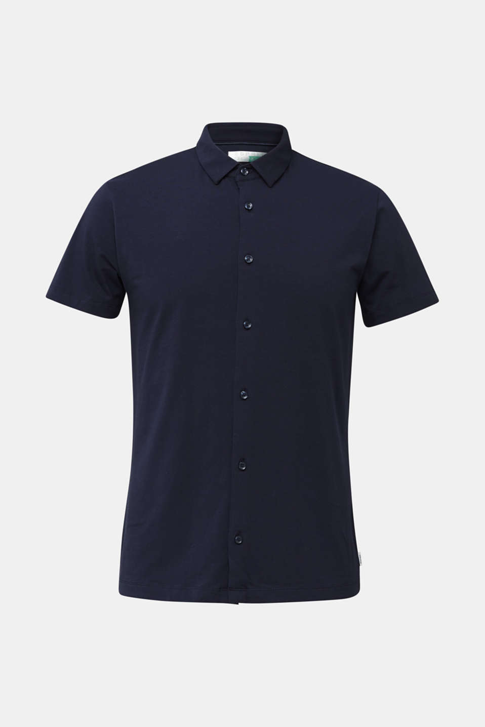 Jersey shirt with organic cotton, NAVY, detail image number 5