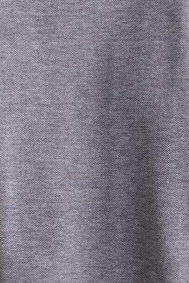Piqué polo shirt, 100% organic cotton, NAVY 2, detail