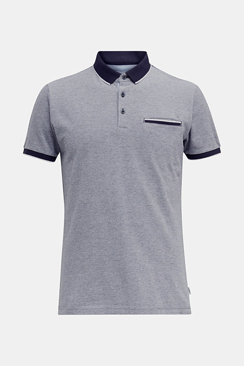 Piqué polo shirt, 100% organic cotton