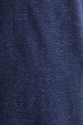 Henley top in jersey with layered details, NAVY 5, detail