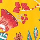 Hipster-Shorts mit Blumen-Print, SUNFLOWER YELLOW, swatch
