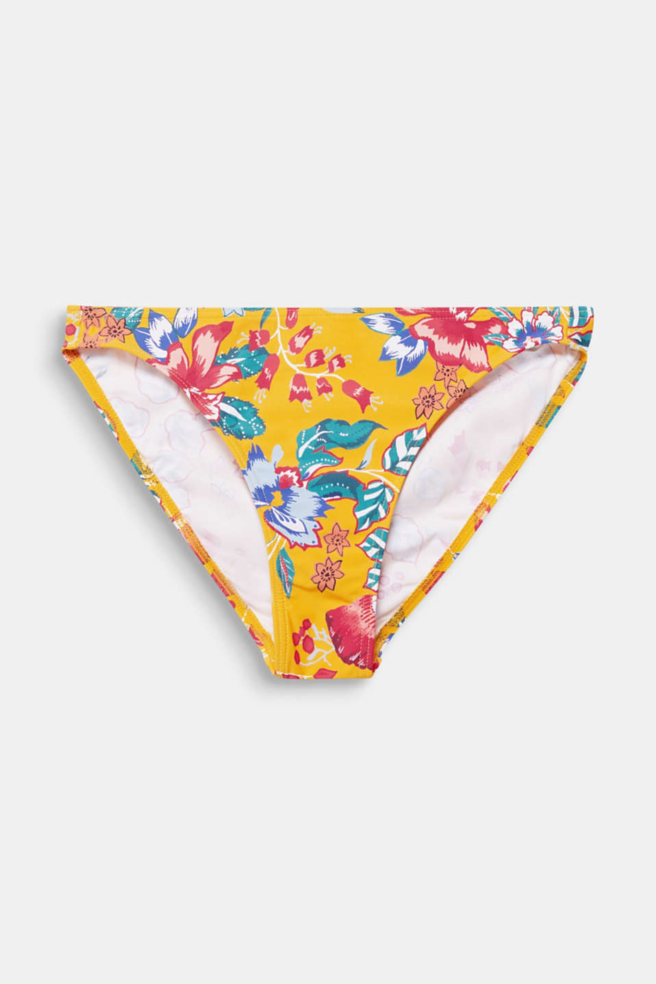 Mini briefs with a floral print, SUNFLOWER YELLOW, detail image number 4