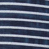 Halterneck top in a denim look, GREY BLUE, swatch