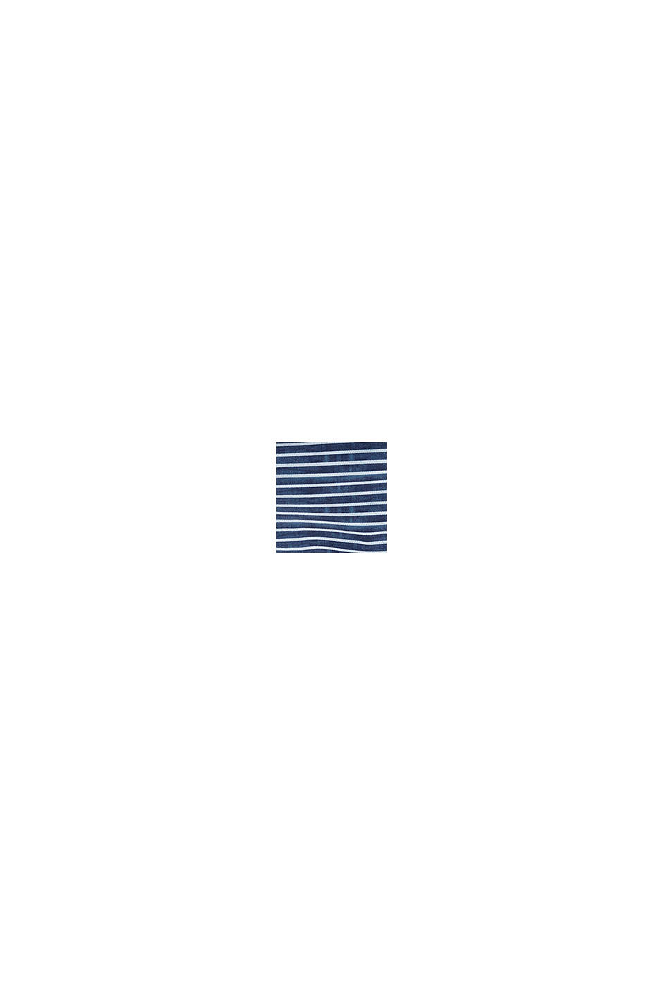 Midislip in een denim look, GREY BLUE, swatch