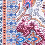 Swimsuit in a paisley pattern mix, GREY BLUE, swatch
