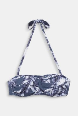Print top with detachable straps, INK, detail