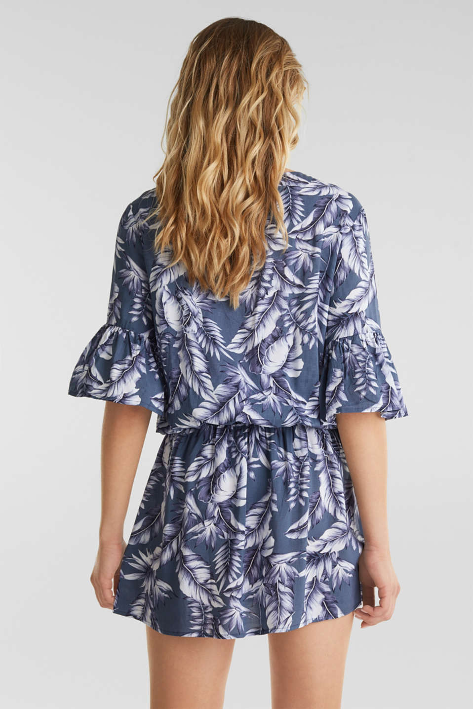 Casual tunic-style dress, INK, detail image number 1