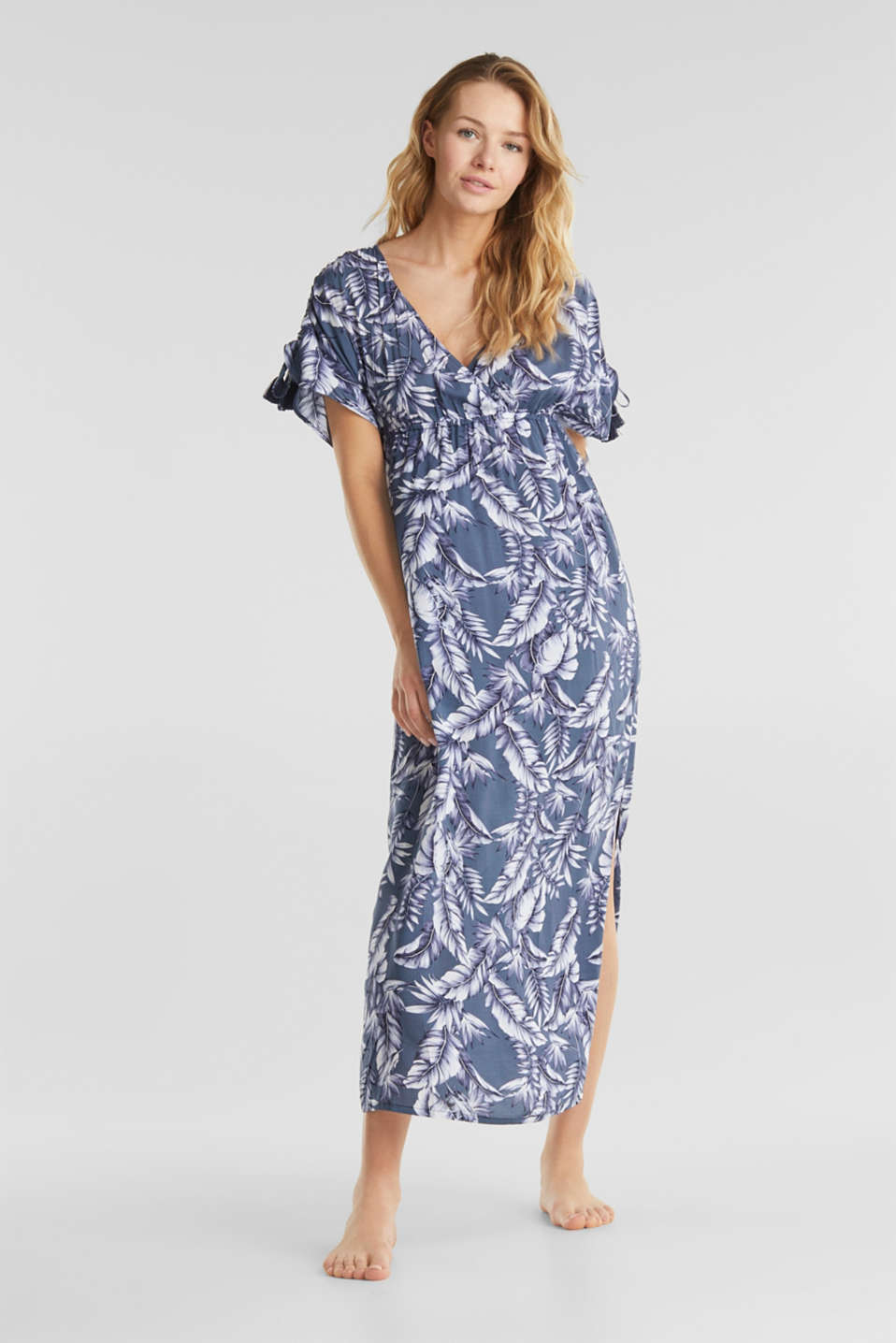 Esprit - Casual dress with a print