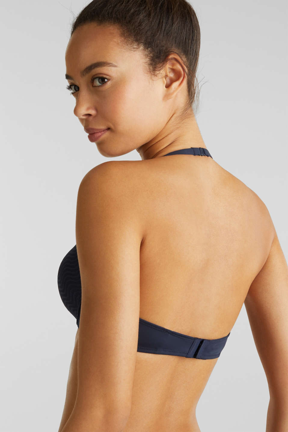 Padded, underwire bra with multi-way straps, NAVY 2, detail image number 4
