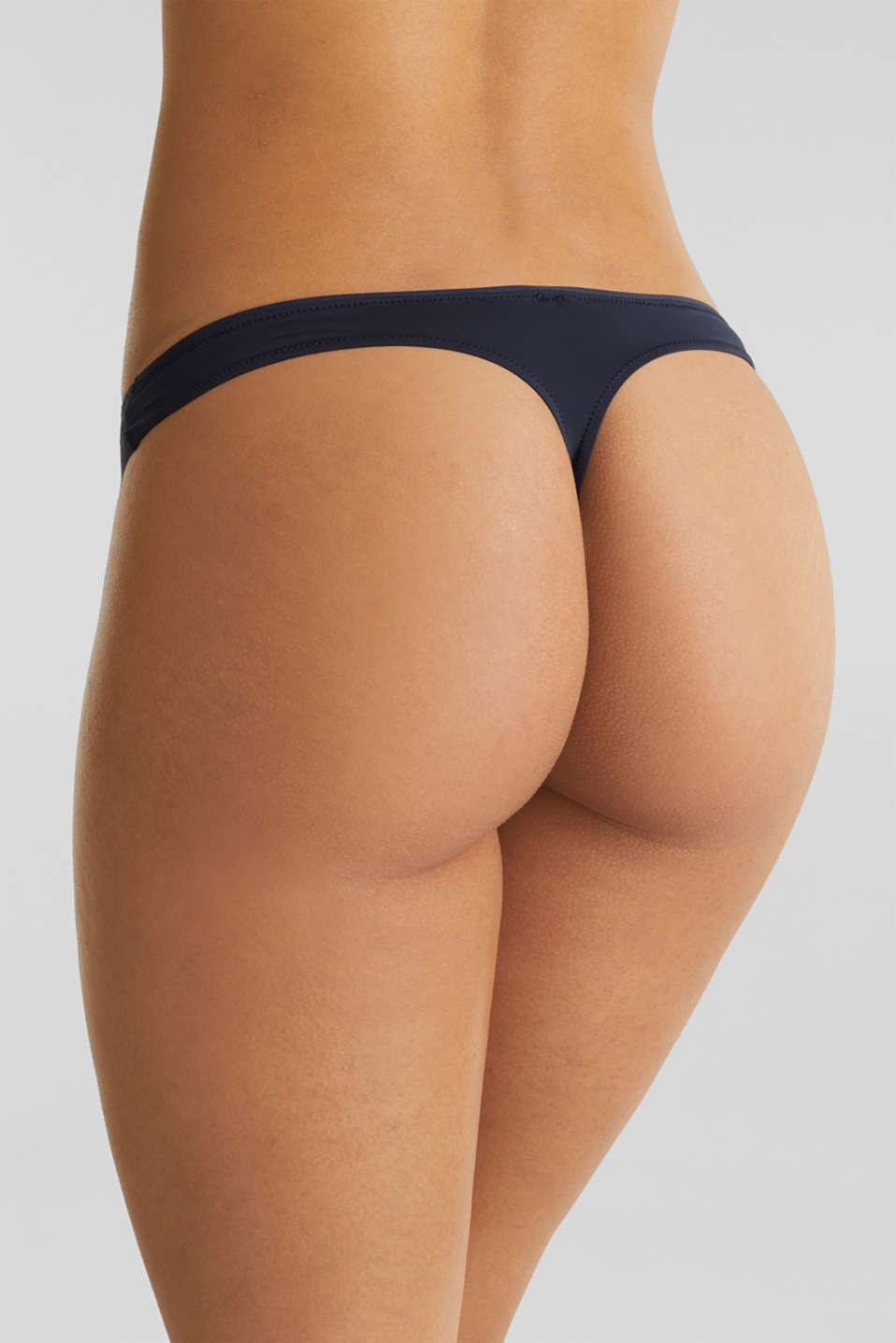 Hipster thong made of wavy lace, NAVY 2, detail image number 2
