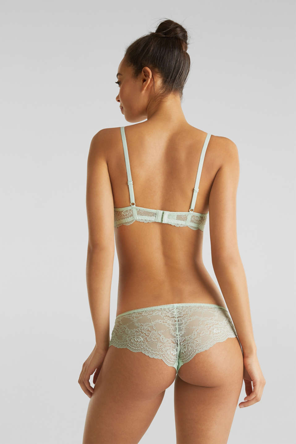 Hipster briefs in lace, LIGHT AQUA GREEN, detail image number 2