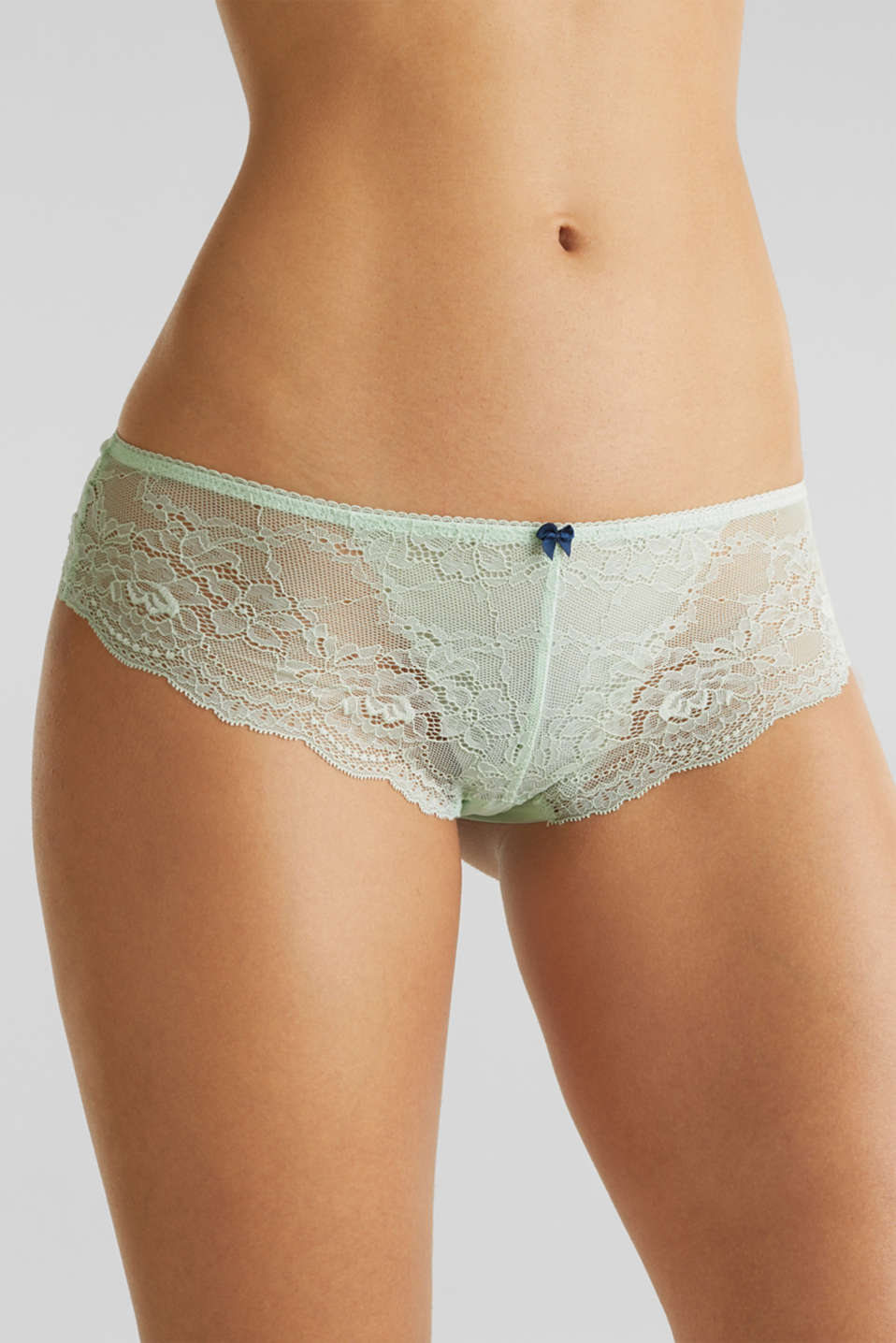 Hipster briefs in lace, LIGHT AQUA GREEN, detail image number 1